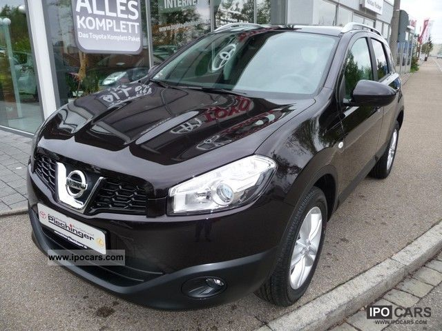 2012 nissan qashqai +2 1.5 dci dpf i-way - car photo and specs