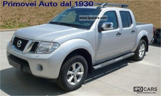 2011 nissan navara 2 5 dci double cab 4wd le car photo and specs. Black Bedroom Furniture Sets. Home Design Ideas