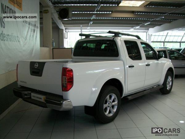 2012 nissan navara double cab 2 5 dci 190 cv le bvm car. Black Bedroom Furniture Sets. Home Design Ideas