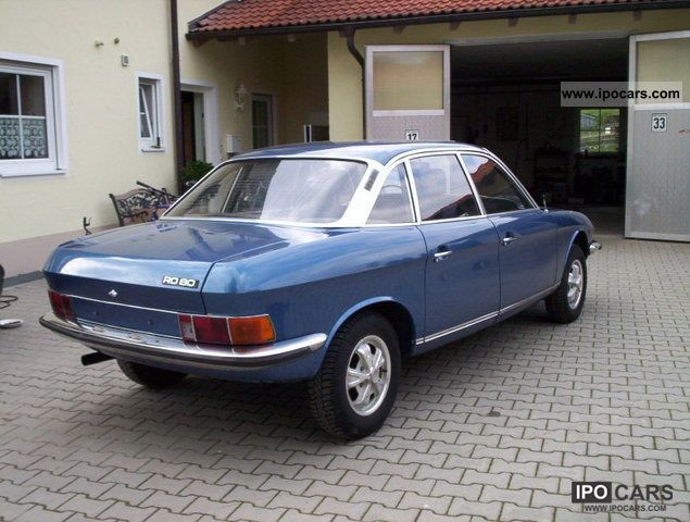 1975 Nsu Ro 80 Wankel Audi Auto Union Car Photo And Specs