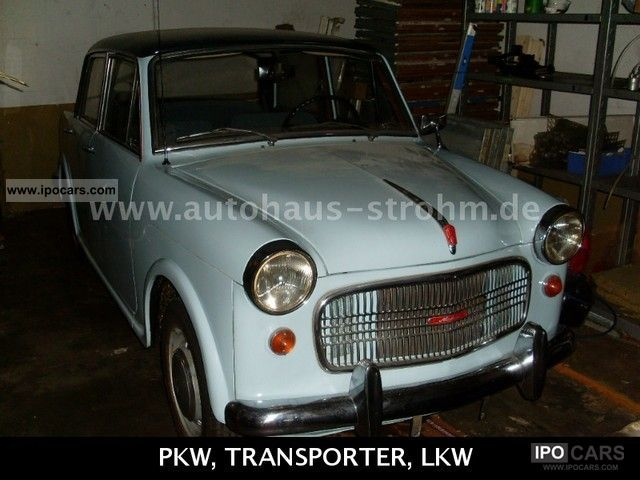 NSU  Fiat Neckar Special Model 103-G 1962 Vintage, Classic and Old Cars photo