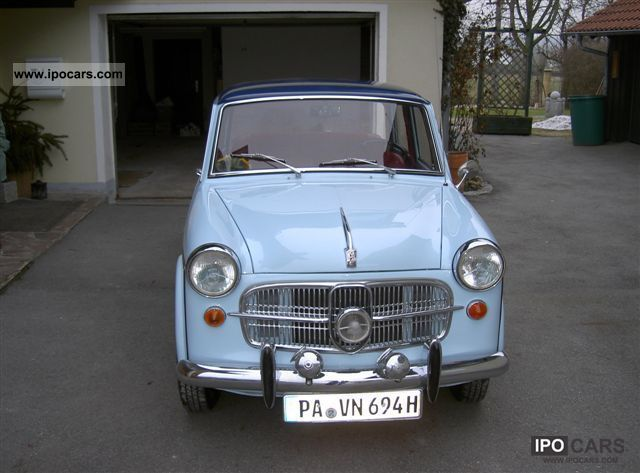 NSU  Fiat Neckar 1100 Special Type 103-G 1962 Vintage, Classic and Old Cars photo