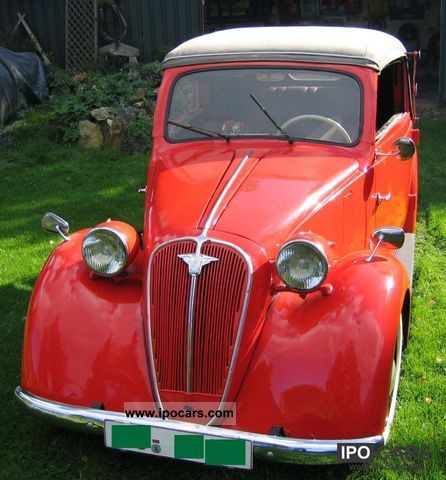 1937 NSU  Fiat 508C Ballila Cabrio / roadster Used vehicle photo