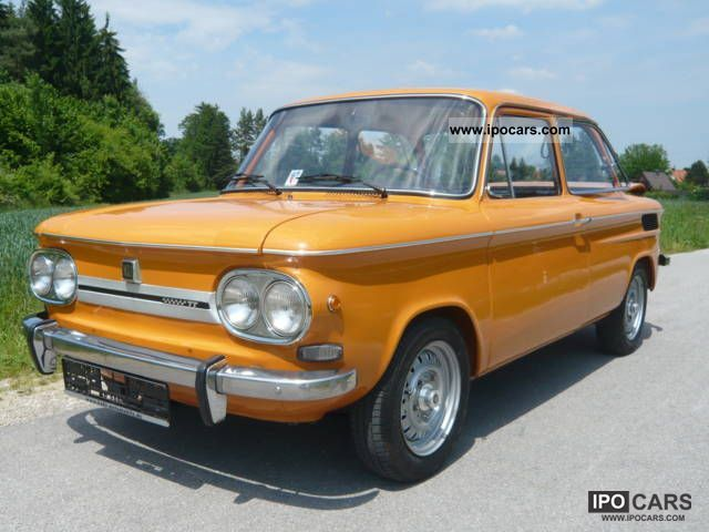 1970 NSU  1200TT, type: 67F, 1.Hd, orig. 86202km! Small Car Classic Vehicle photo