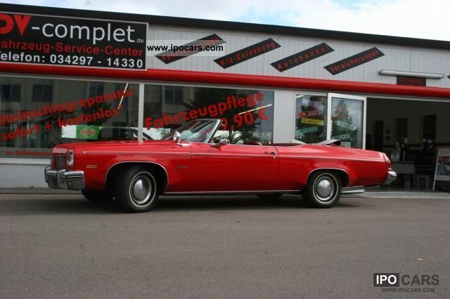 Oldsmobile  Delta 88 Royale Convertible single piece! 1975 Vintage, Classic and Old Cars photo