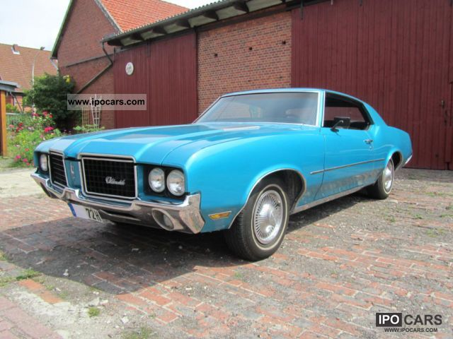 1972 Oldsmobile  Cutlass H-approval Sports car/Coupe Used vehicle photo
