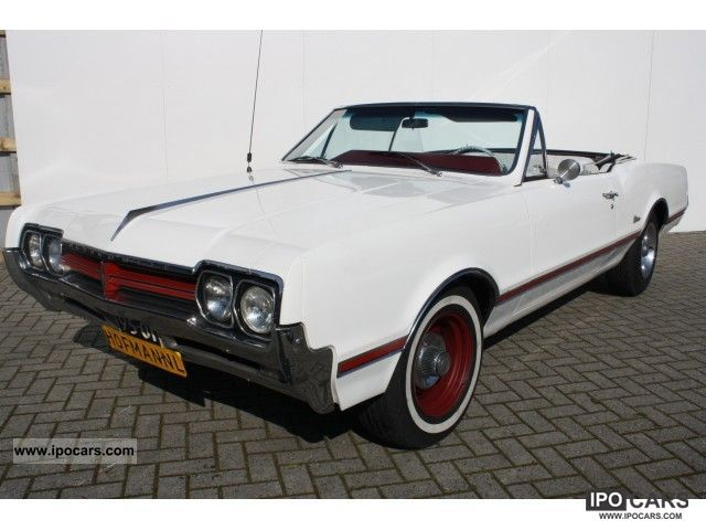 1966 Oldsmobile  V8 Cutlass convertible, NL origineel car! Sports car/Coupe Classic Vehicle photo
