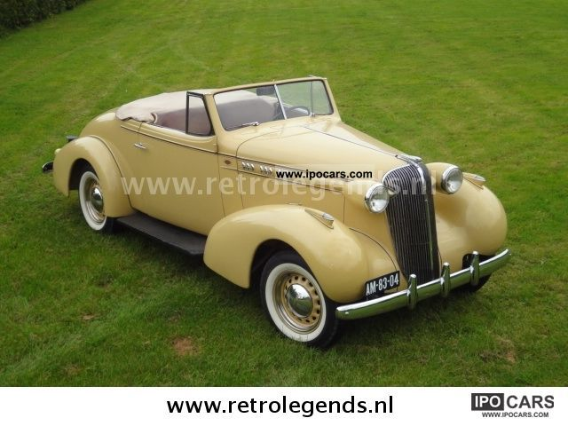 Oldsmobile  F 2dr Convertible Cupe Dickey seat 1936 Vintage, Classic and Old Cars photo