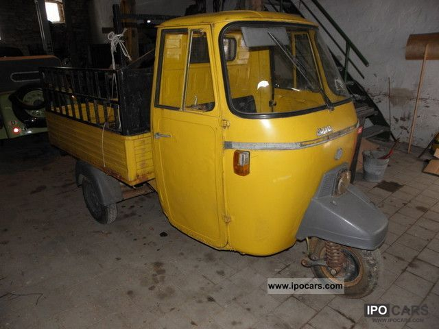 1980 Piaggio  APE P 501 Other Classic Vehicle photo