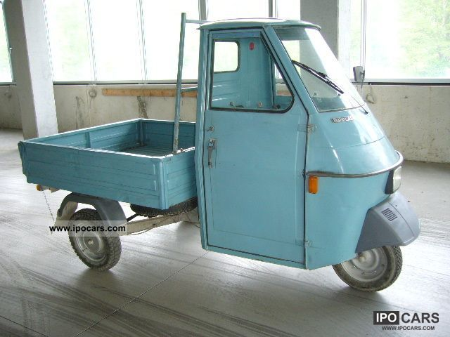 1986 piaggio ape 50 classic car car photo and specs. Black Bedroom Furniture Sets. Home Design Ideas
