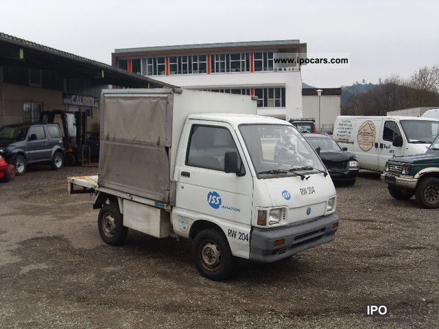 1997 Piaggio  Porter picking up, carrying case, ready to drive, RW204 Off-road Vehicle/Pickup Truck Used vehicle photo