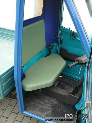 1992 Piaggio Ape 50 Tl6t Car Photo And Specs