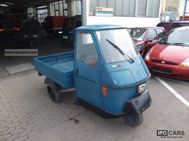 1995 Piaggio  APE Platform Small Car Used vehicle photo