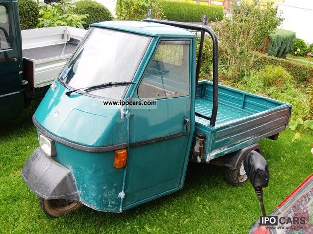 1996 Piaggio  APE 50 Throttled to 25 kmh TÜV Other Used vehicle photo
