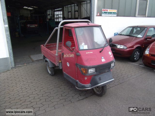 2001 Piaggio  APE Cross Small Car Used vehicle photo