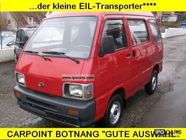 1996 Piaggio  Porter petrol ... + nimble + 2 small sliding doors ** Van / Minibus Used vehicle photo