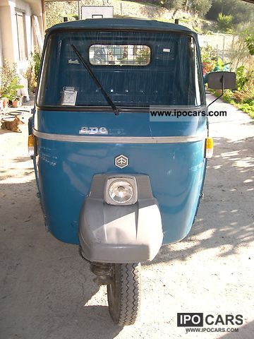 1996 Piaggio  Ape P501 ottimo stato solo 37000 km Other Used vehicle photo