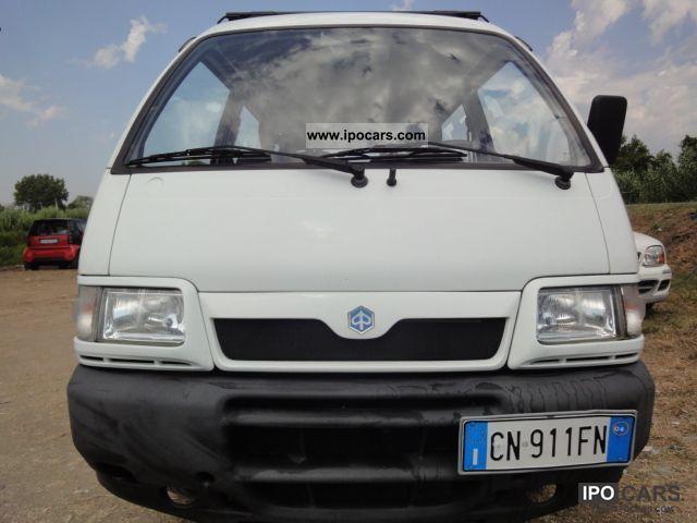 2004 Piaggio  B.16V Van Glass Van / Minibus Used vehicle photo