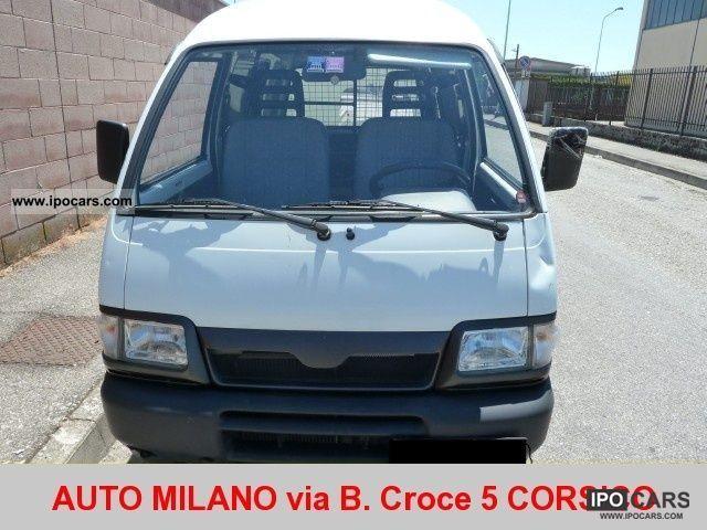 2006 Piaggio  Porter 1.3i 16V Van blind cat Other Used vehicle photo