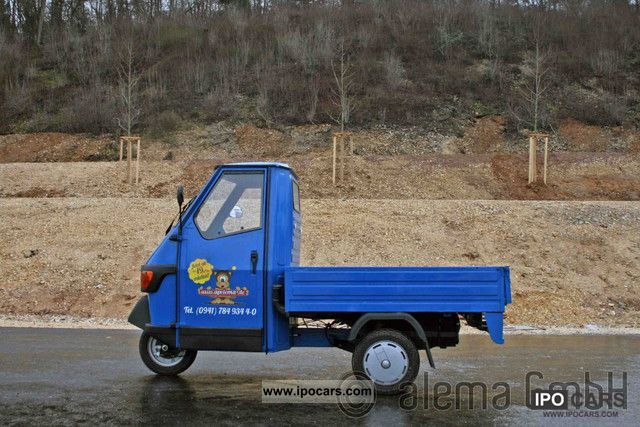 2011 Piaggio  APE 50 long flatbed financing possible! Other Used vehicle photo