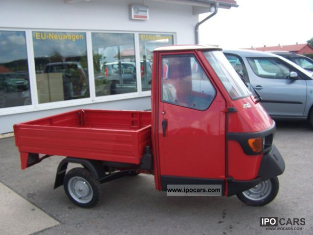 2011 Piaggio  APE 50 flatbed Red - IN STOCK - Off-road Vehicle/Pickup Truck New vehicle photo