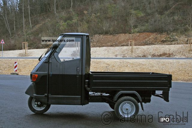 2012 Piaggio  APE 50 long flatbed financing possible! Other Used vehicle photo