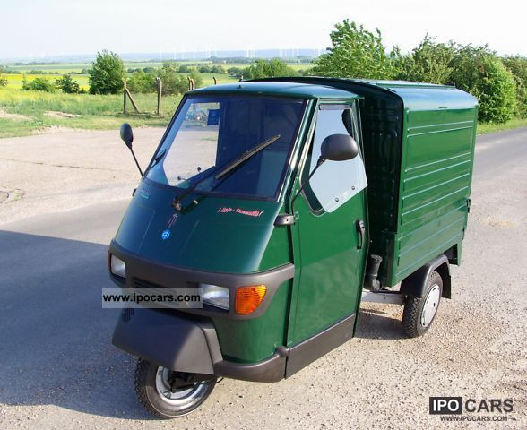 2004 piaggio ape 50 box car photo and specs. Black Bedroom Furniture Sets. Home Design Ideas