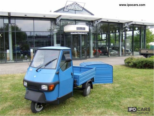 2010 Piaggio  APE 50 europe box NEW VAT NOW READY TO PICK UP Off-road Vehicle/Pickup Truck Demonstration Vehicle photo