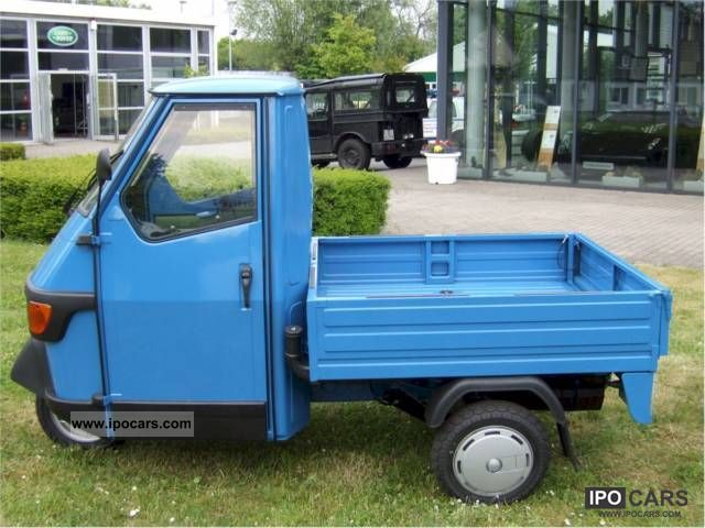 2010 piaggio ape 50 europe box new vat now ready to pick up car photo and specs. Black Bedroom Furniture Sets. Home Design Ideas