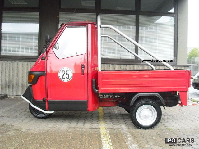 2002 piaggio ape cross 50 with 25 km h accreditation car photo and specs. Black Bedroom Furniture Sets. Home Design Ideas