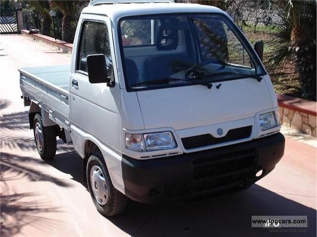 2003 Piaggio  Porter 4.1 diesel Other Used vehicle photo