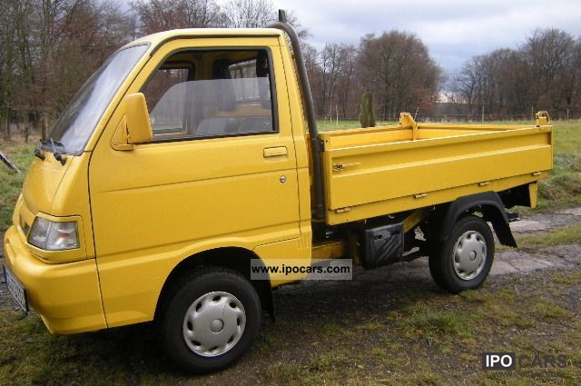2006 Piaggio  Porter Tipper Other Used vehicle photo