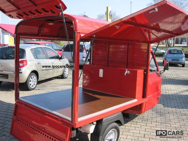 2009 Piaggio  Selling cars, coffee, water tank, like new Other Used vehicle photo