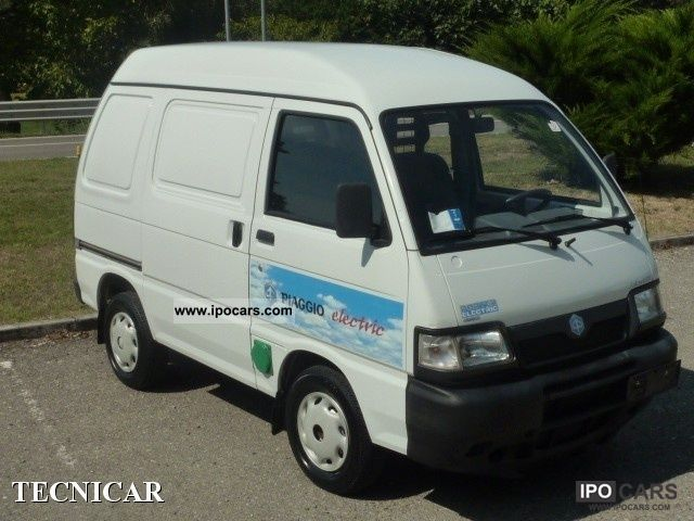 Piaggio  Porter € 0.50-100Km MICROVET PAK.PLUS 16BATT 2005 Electric Cars photo