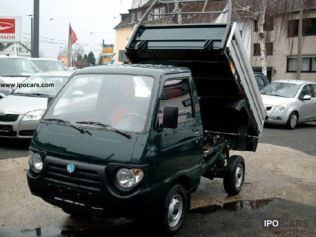 2012 Piaggio  Porter Tipper Quargo SPECIAL PRICE Van / Minibus Pre-Registration photo