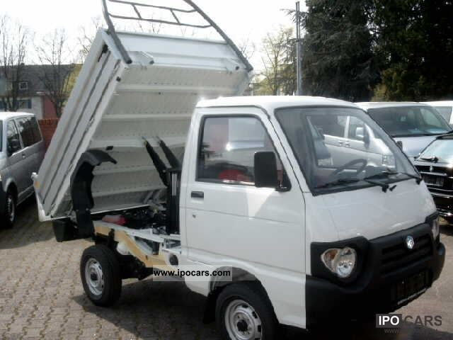 2012 Piaggio  QUARGO diesel trucks by dealer Van / Minibus Pre-Registration photo