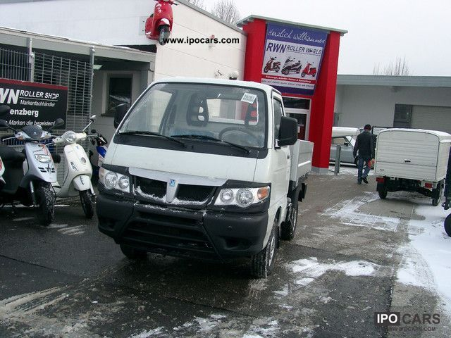2011 Piaggio  Porter platform body Euro4 day registration! Off-road Vehicle/Pickup Truck Used vehicle photo