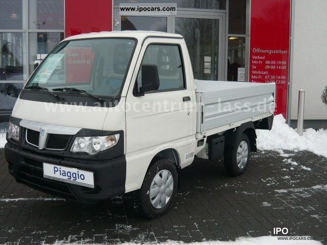 2012 Piaggio  Topdeck also wear as a winter service vehicle Other Used vehicle photo
