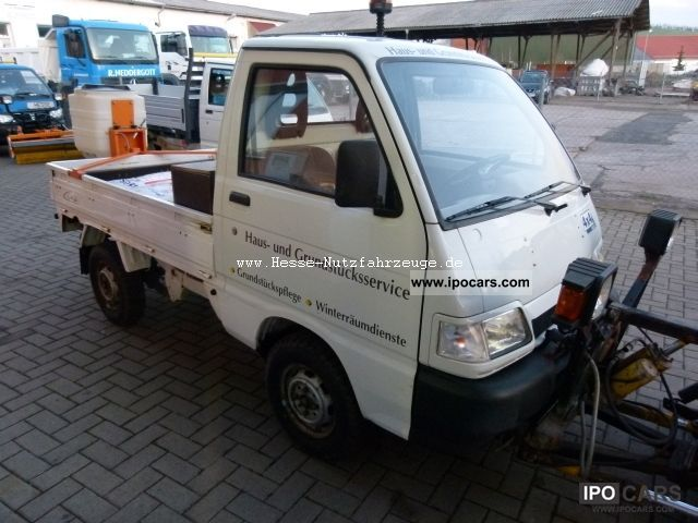 2003 piaggio porter 4x4 winter vehicle car photo and specs. Black Bedroom Furniture Sets. Home Design Ideas