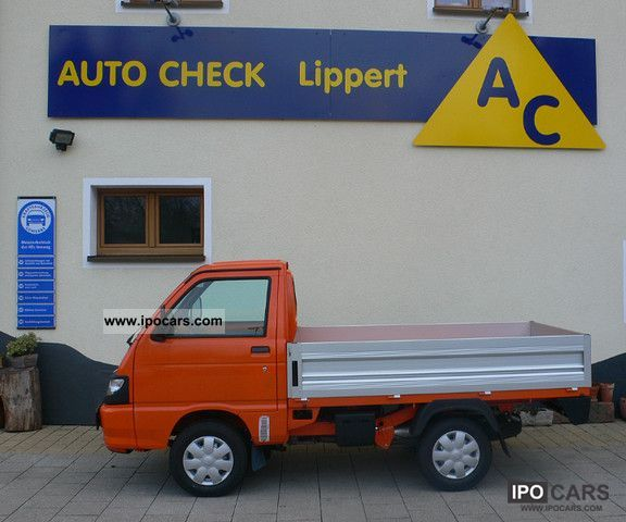 2012 Piaggio  Porter Top Deck Extra 1.3 16V Off-road Vehicle/Pickup Truck Demonstration Vehicle photo