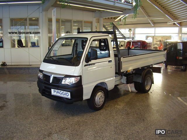 2012 Piaggio  Porter Tipper MAXXI long - also known as winter maintenance Other Pre-Registration photo