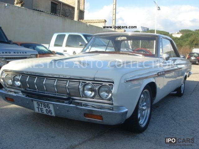 Plymouth  FURY HARD TOP COUPE 1964 Vintage, Classic and Old Cars photo