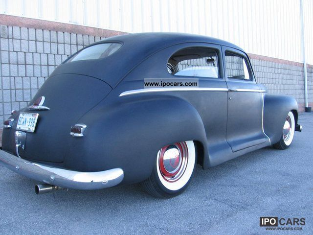 Plymouth  Coupe de Luxe 1948 Vintage, Classic and Old Cars photo