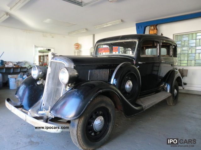 Plymouth  PLYMOUTH DELUXE MODEL PE 1934 Vintage, Classic and Old Cars photo