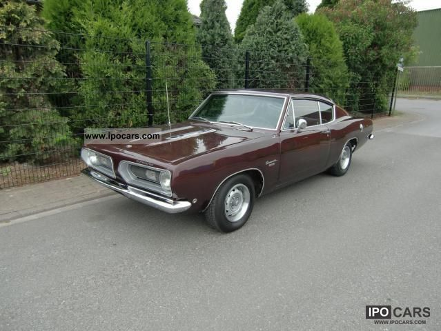 Plymouth  Barracuda 1968 Vintage, Classic and Old Cars photo