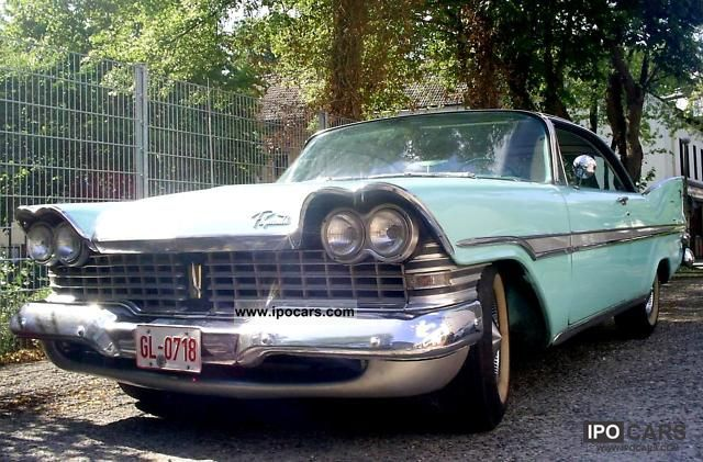 Plymouth  Fury hardtop 2DOOR 1959 Vintage, Classic and Old Cars photo