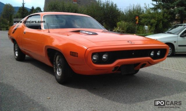 Plymouth  Roadrunner 383 cui, paint NEW TOP-Price 1971 Vintage, Classic and Old Cars photo