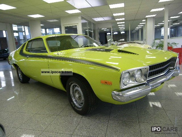 1973 Plymouth  roadunner 440ci Sports car/Coupe Used vehicle photo
