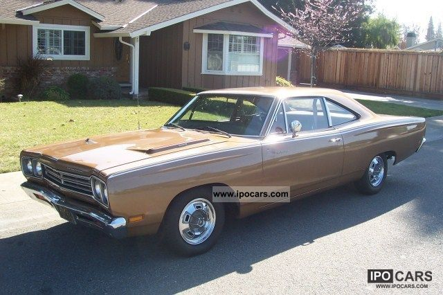 Plymouth  Roadrunner 383 Big Block 100% original 1969 Vintage, Classic and Old Cars photo