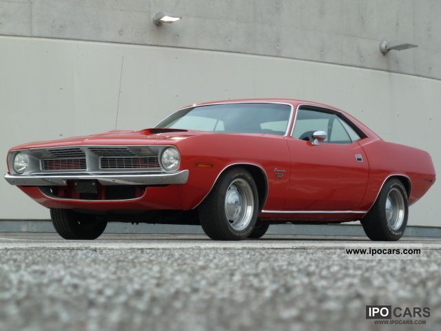 1970 Plymouth  Barracuda 383 V8 Sports car/Coupe Used vehicle photo
